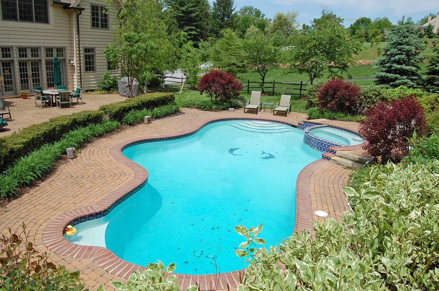 9 Custom Pool and Spa