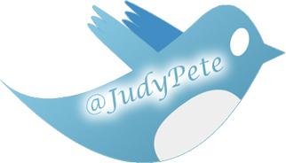 Follow Me On Twitter @JudyPete
