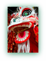 Chinese New Year Lion Dragon
