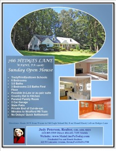 Sunday Open House 766 HEDGES WAYNE