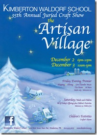 Artisan Village Kimberton Craft Show
